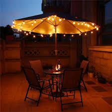 Outdoor Table Lighting String Lights With 25 G40 Globe Bulbs Ul Listed For Indoor Outdoor