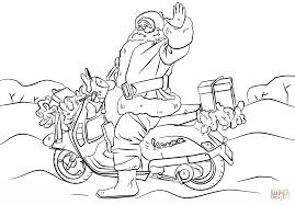 free harley davidson motorcycle coloring page printable click