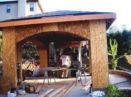 outdoor kitchen design ideas christmas lights decoration