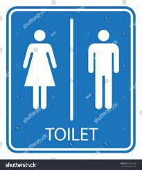 Mens And Womens Bathroom Signs Restroom Signs Clip Art Doorje Wc Toilet Icons Set Men Women Stock