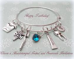 personalized gifts jewelry dental hygienist gift dental hygienist bracelet gift ideas for