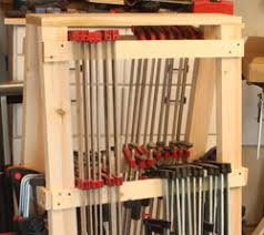 Wood Clamp Storage Rack Plans by Building The Newwoodworker Com Mobil Clamp Rack Woodworking Info