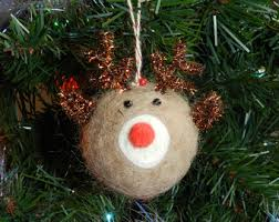 rudolph ornament etsy