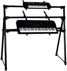 On Stage Keyboard Bench Onstage Ks7903 Triple Tier Keyboard Stand Keyboard Stands Piano