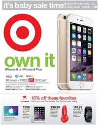 iphone deals black friday target weekly ad sale 7 5 7 11 2015 iphone 6 or iphone 6 plus sale
