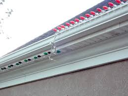 how do you attach your c9 c7 lights to your house lights