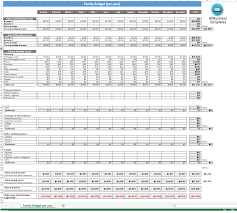 Annual Budget Spreadsheet by