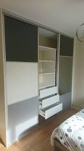 placard chambre amnagement dressing chambre cheap suite parentale une salle de