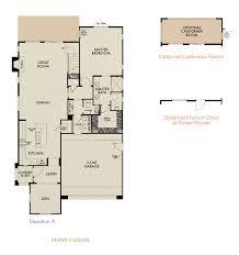 Grocery Store Floor Plan Serrano Ridge New Homes In Corona Ca Tri Pointe Homes
