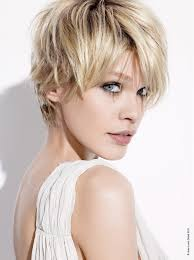 images of womens short hairstyles with layered low hairline short blonde straight coloured layered womens haircut hairstyles