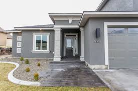 front door colors for gray house with black shutters exterior