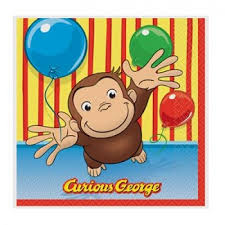 party supplies birthdays treasured curious george