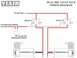 nissan armada air suspension relay viair dual 380c 200psi air compressor pumps