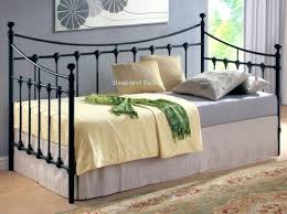 metal day bed black metal single day bed metal daybed instructions