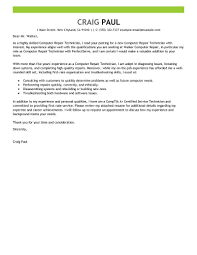 ideas of cover letter for science technician with