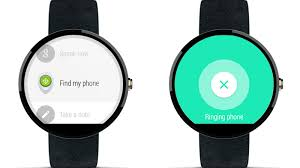find my android android wear can now help you find your lost phone the verge