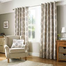 Lined Grey Curtains Pebble Regan Lined Eyelet Curtains Dunelm Decor U0026 Diy