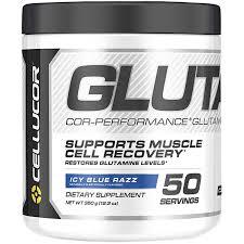 cellucor cor performance glutamine icy blue razz 12 3 oz 350 g