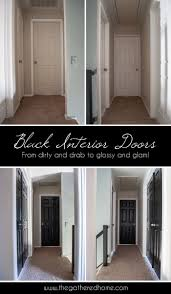 Home Interior Door by Best 25 Black Interior Doors Ideas On Pinterest Black Doors