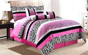 Zebra Bed Set Astonishing Best Bed Set Ideas Bedroom Picture Of Pink And White
