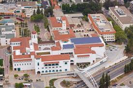 San Diego State University Map by San Diego State University Solar Energy Installations Sullivan