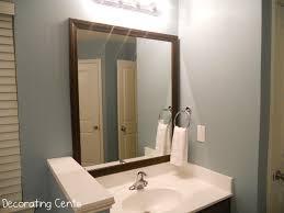 bathroom cabinets new framing bathroom mirrors framing bathroom
