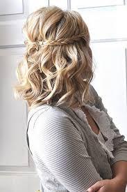 Hochsteckfrisurenen Mittellange Haare Halboffen by 23 Besten J Bilder Auf Kurze Haare Frisur Hochzeit