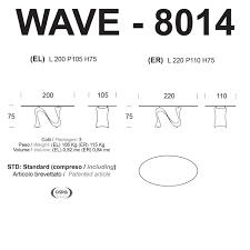 Italienische Schlafzimmerm El Hersteller Tonin Casa Wave T8014 El Er Esstisch Ovale Form Emporium