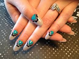 thanksgiving nail art tutorial native american nail art redneck nailz nail art pinterest