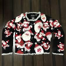 euc michael simon santa clause sweater size medium ebay