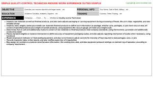 quality control technician job description 3 key job