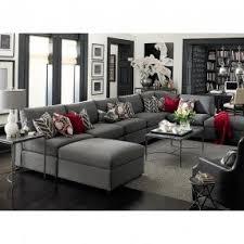 Sectional Gray Sofa Charcoal Gray Sectional Sofa Foter