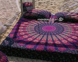 boho bedding  etsy with decor for bohemian bedroom bed throw gift mandala bedspread hippie boho  bedding from etsycom