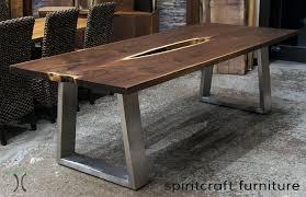 live edge table top live edge chicago area slab table furniture showroom