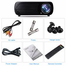 1080p home theater projector aliexpress com buy excelvan home theater projector 2600