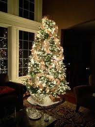 burlap christmas tree my burlap christmas the hansen family