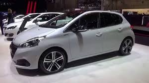 peugeot 208 models 2016 peugeot 208 gt exterior and interior geneva motor show