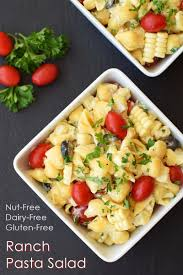 Simple Pasta Salad Recipe Dairy Free Ranch Pasta Salad Recipe