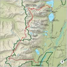 Jackson Hole Map Best Grand Teton National Park Hike Trail Map National Geographic