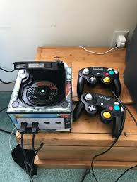 my beach house rental came with a gamecube and mario kart gaming