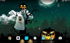 spooky screensaver halloween wallpaper android apps on google play