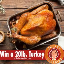 win a 20lb thanksgiving heritage turkey julie s freebies