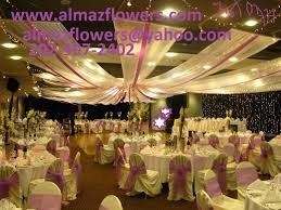 wedding decorations rental wedding ceiling decoration stage decoration and table setup by