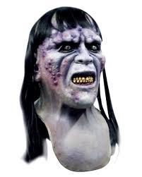 aida pestzombie mask zombie mask with synthetic hair horror