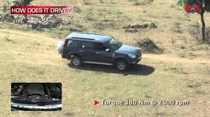 ford endeavour 4x2 at road test video youtube