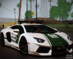 Lamborghini Aventador Replacement - lamborghini aventador lp 700 4 police for gta san andreas