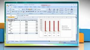 How To Remove Pivot Table Microsoft Excel 2007 How To Delete A Pivottable Or Pivotchart