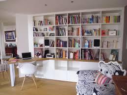 bureau bibliotheque bibliothèque sur mesure classique bureau à domicile strasbourg