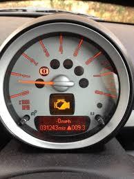 mini cooper warning lights meanings yellow engine light mini cooper forum