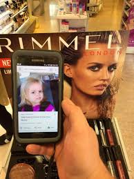 Get The Rimmel Look Meme - is the little girl in this meme an actual time traveller kiis